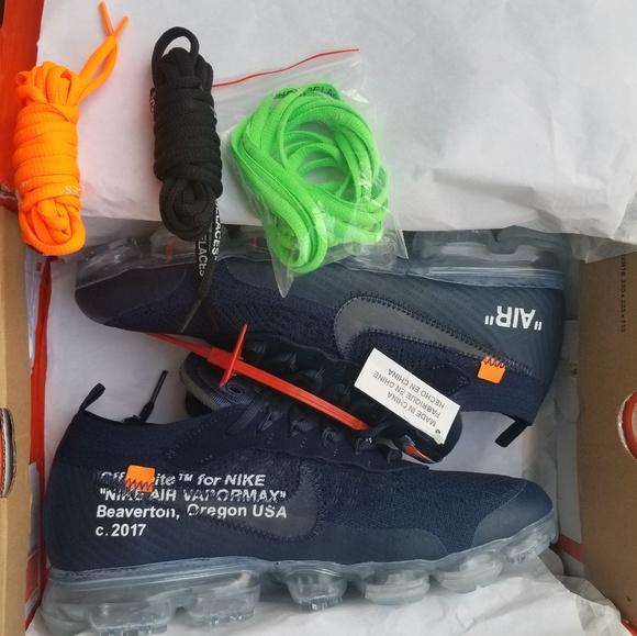 590bf17c2314e Nike Vapormax Off-white Navy Aa3831-005